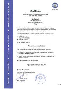 استاندارد و گواهینامه منبع فورتیس